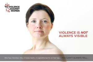 VIOLENCEis not always VISIBLE